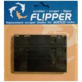 Std Flipper Spare ABS blades x 3