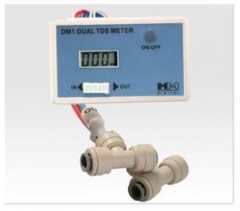 Inline Dual TDS Meter : HM Digital DM1